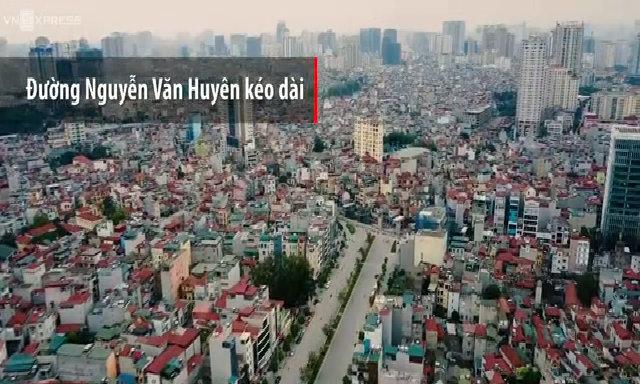 Đường Nguyễn Văn Huyên kéo dài