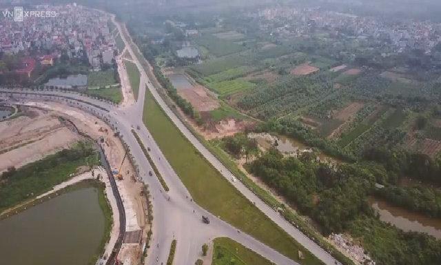 Đường trục 'dát vàng' ở quận Long Biên