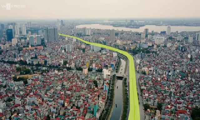 Trải nghiệm đường vành đai 2 Nhât Tân - Cầu Giấy