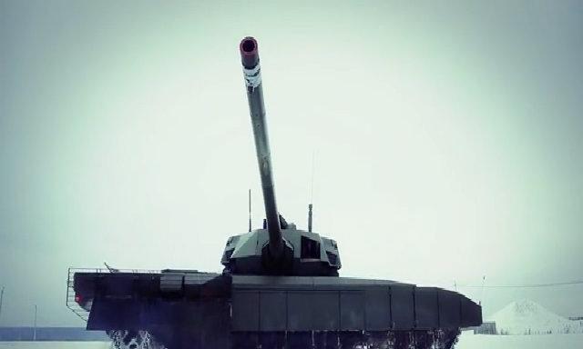 T-14 Armata trình diễn khả năng cơ động