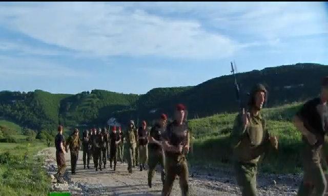 Cuộc hành quân kiểm tra ứng viên đặc nhiệm Nga