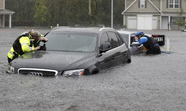 Bão Florence gây mưa kỷ lục ở North Carolina