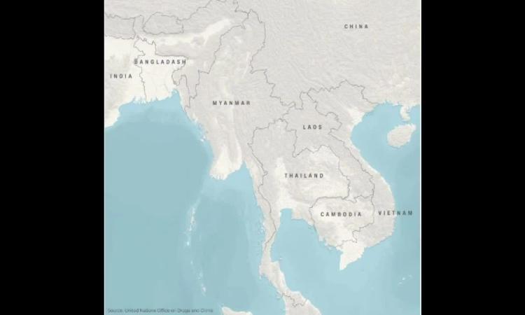 Mạng lưới phân phối ma túy đá ở châu Á - Thái Bình Dương